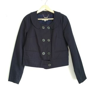 See By Chloe Navy Cotton Jacket Size 8